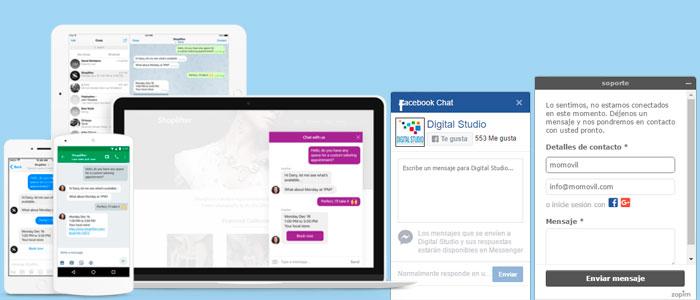 Chat en tu pagina web